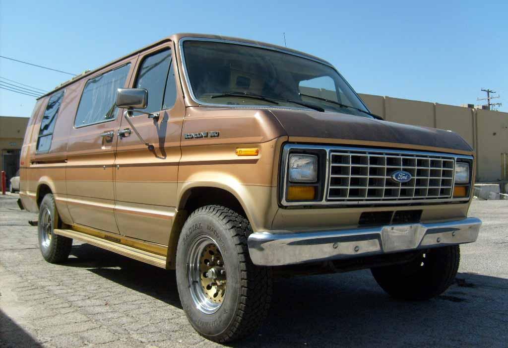 1986 Ford Econoline Van Classic Car Auction