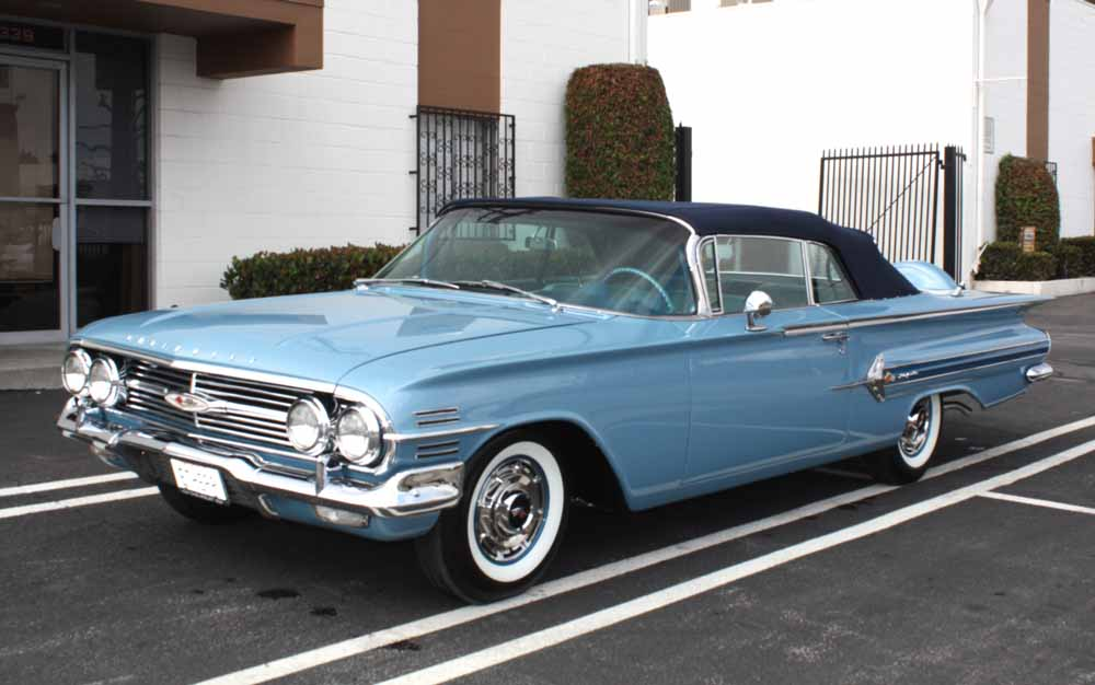 1960 Impala Convertible For Sale