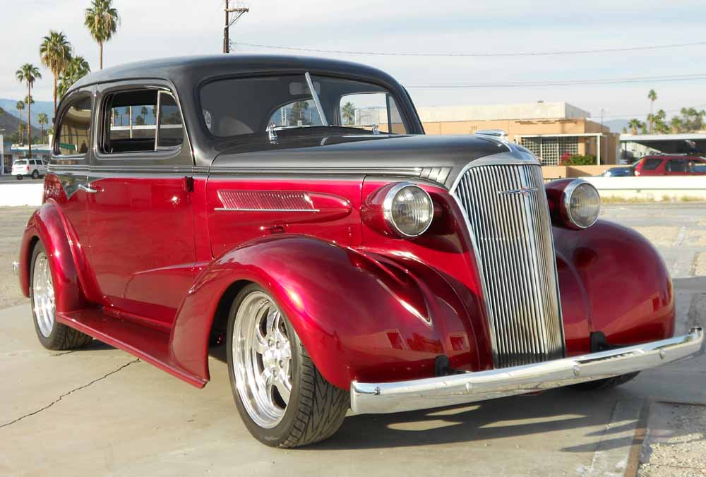 2GA0336456 Chevrolet coupe 1937 chevy hot rod 2dr coupe project car