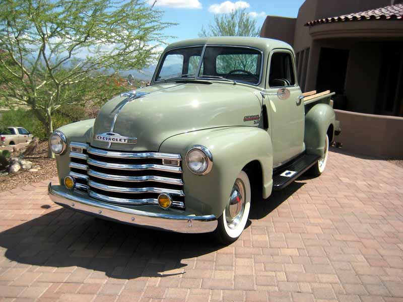 Classic car auctions for 1949 chevy truck 5 window